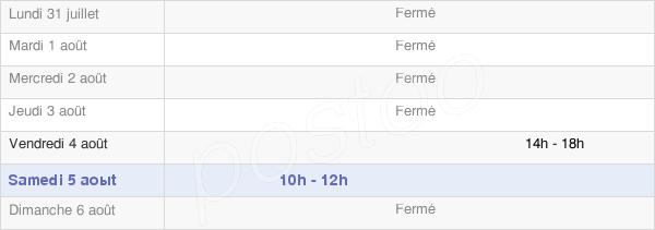 horaires d'ouverture de la Mairie De Mours
