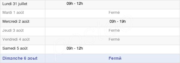horaires d'ouverture de la Mairie De Frémainville