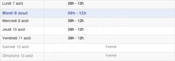horaires d'ouverture de la Mairie De Vaudherland