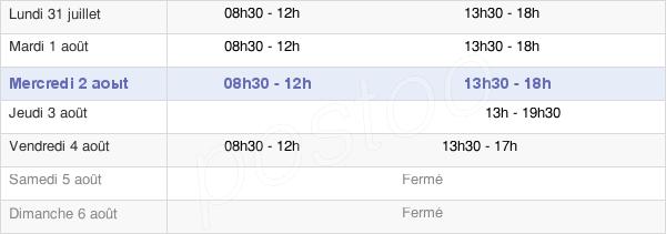 horaires d'ouverture de la Mairie D'Arnouville