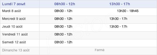 horaires d'ouverture de la Mairie De Pierrelaye