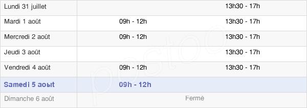 horaires d'ouverture de la Mairie D'Osny