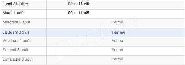 horaires d'ouverture de la Mairie De Menucourt