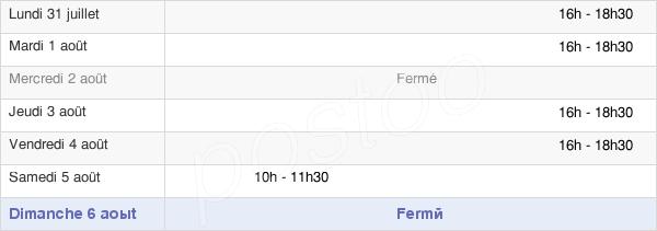 horaires d'ouverture de la Mairie De Reuil-En-Brie