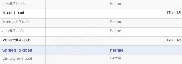 horaires d'ouverture de la Mairie De Germigny-Sous-Coulombs