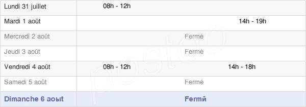 horaires d'ouverture de la Mairie De Remaucourt