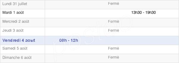 horaires d'ouverture de la Mairie De Vendelles