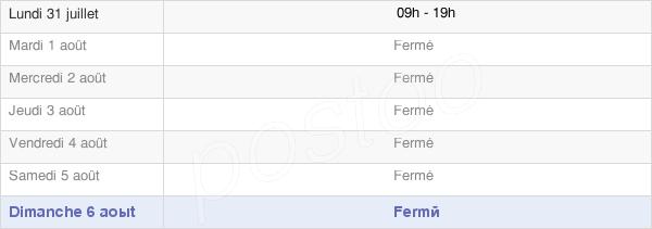 horaires d'ouverture de la Mairie D'Oigny-En-Valois