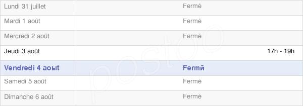 horaires d'ouverture de la Mairie De Seringes Et Nesles