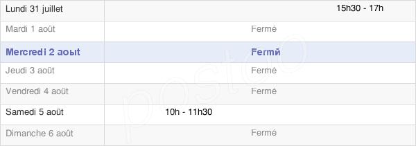horaires d'ouverture de la Mairie D'Hautevesnes