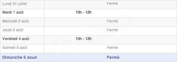 horaires d'ouverture de la Mairie De Beaumont-En-Beine