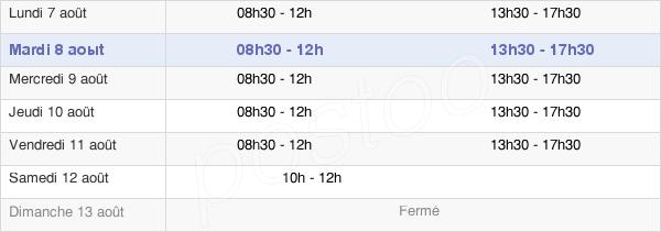 horaires d'ouverture de la Mairie D'Étréaupont