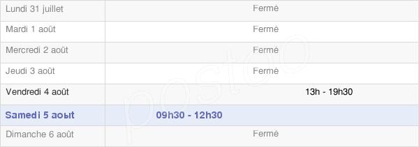 horaires d'ouverture de la Mairie De Mauregny-En-Haye