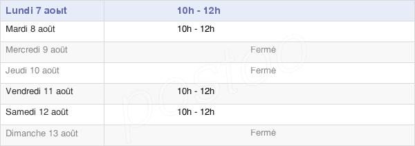 horaires d'ouverture de la Mairie D'Any-Martin-Rieux