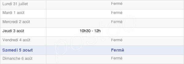 horaires d'ouverture de la Mairie De Merval