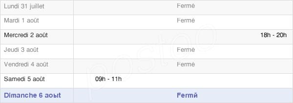 horaires d'ouverture de la Mairie De Rimbach-Près-Guebwiller