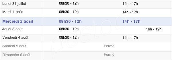 horaires d'ouverture de la Mairie De Laruns