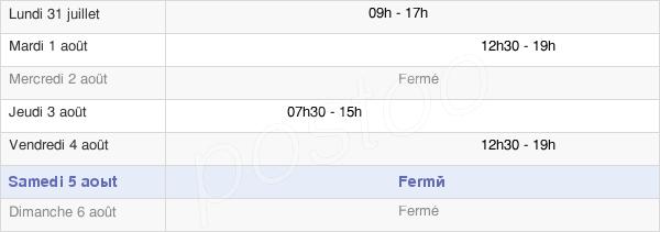 horaires d'ouverture de la Mairie De Lescun