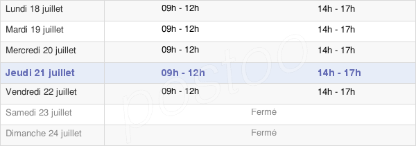 horaires d'ouverture de la Mairie De Sauveterre-De-Béarn