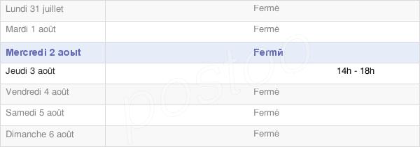 horaires d'ouverture de la Mairie De Beyrie-En-Béarn