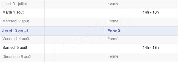 horaires d'ouverture de la Mairie De Lurbe-Saint-Christau