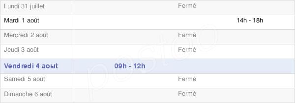 horaires d'ouverture de la Mairie D'Arraute-Charritte