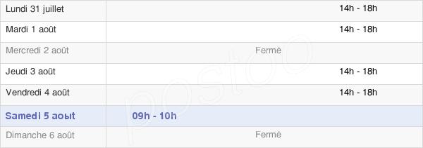 horaires d'ouverture de la Mairie Des Aldudes