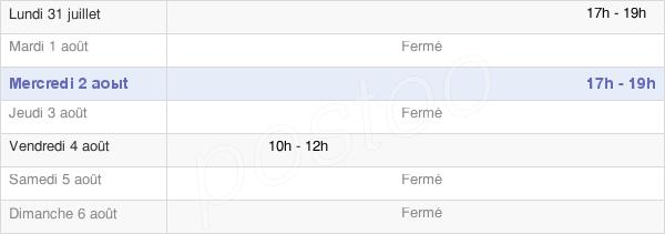 horaires d'ouverture de la Mairie D'Ambrumesnil