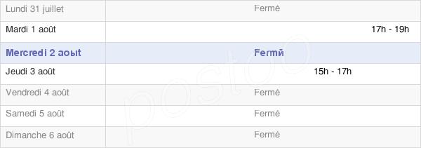 horaires d'ouverture de la Mairie De Vattetot-Sous-Beaumont