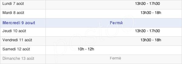 horaires d'ouverture de la Mairie De Bretteville-Du-Grand-Caux