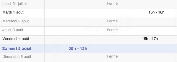 horaires d'ouverture de la Mairie De Bosc-Guérard-Saint-Adrien