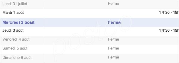 horaires d'ouverture de la Mairie De Trouville Alliquerville