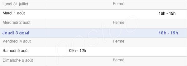 horaires d'ouverture de la Mairie De Blacqueville