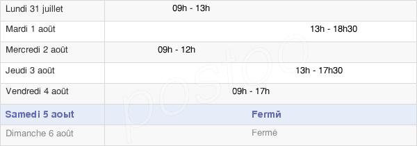 horaires d'ouverture de la Mairie De Cauville-Sur-Mer