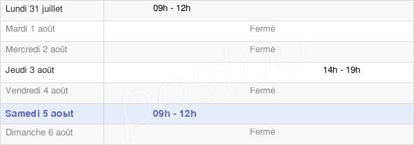 horaires d'ouverture de la Mairie De Saint-Vaast-Du-Val