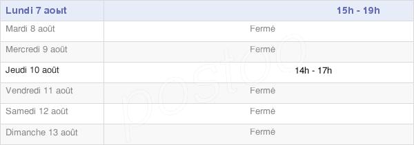 horaires d'ouverture de la Mairie D'Alvimare