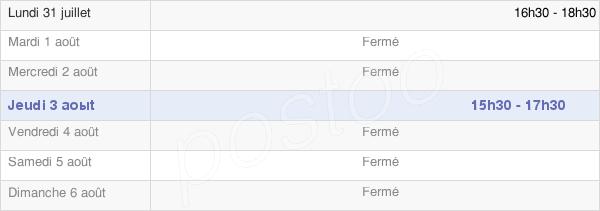 horaires d'ouverture de la Mairie De Tourville-La-Chapelle
