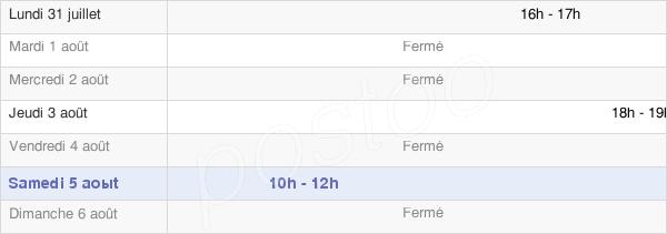 horaires d'ouverture de la Mairie De Pierrepont-Sur-Avre