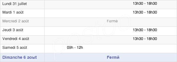 horaires d'ouverture de la Mairie De Saint-Wandrille-Rançon