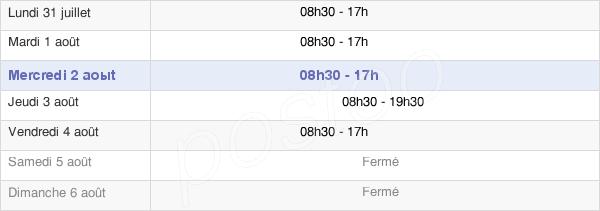horaires d'ouverture de la Mairie Du 10e Arrondissement De Paris