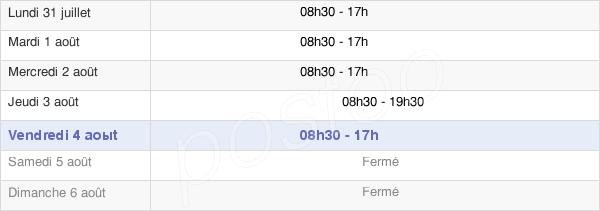 horaires d'ouverture de la Mairie Du 15e Arrondissement De Paris