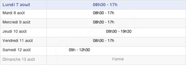 horaires d'ouverture de la Mairie Du 6e Arrondissement De Paris