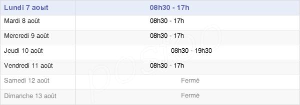 horaires d'ouverture de la Mairie Du 16e Arrondissement De Paris