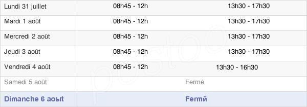horaires d'ouverture de la Mairie D'Alfortville