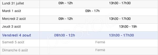 horaires d'ouverture de la Mairie D'Arcueil