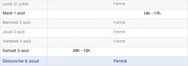 horaires d'ouverture de la Mairie De Montot-Sur-Rognon