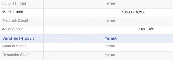 horaires d'ouverture de la Mairie De Larivière-Arnoncourt