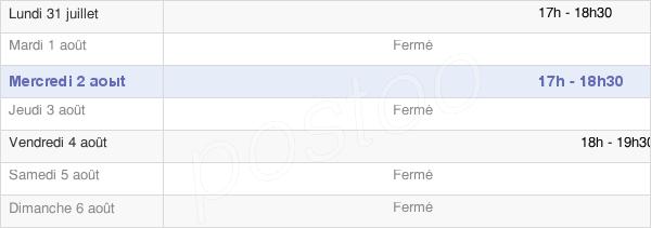 horaires d'ouverture de la Mairie D'Is-En-Bassigny