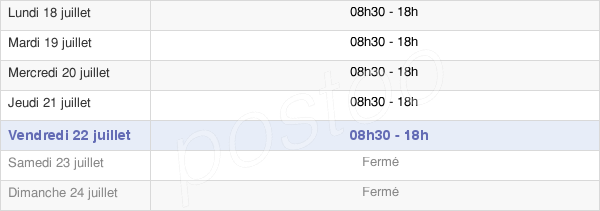 horaires d'ouverture de la Mairie D'Hyères