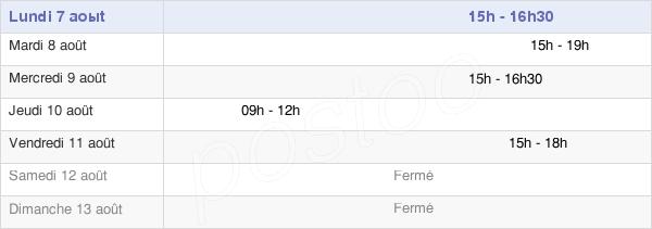 horaires d'ouverture de la Mairie De Saint-Maximin